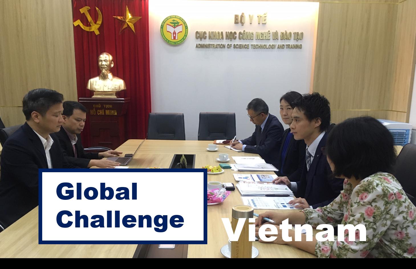 ●Project2:東南アジア「ベトナム」への薬学教育支援